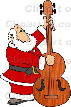 6088_santa_claus_playing_christmas_music_on_a_double_bass